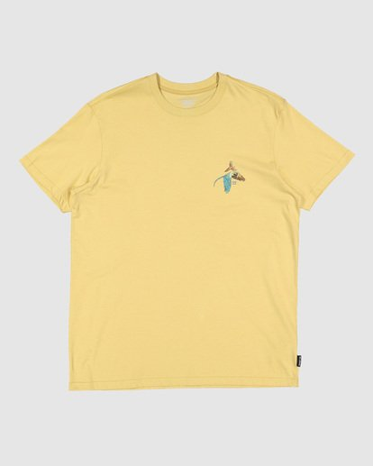 5 Parrot Bay Tee Yellow 9507027 Billabong