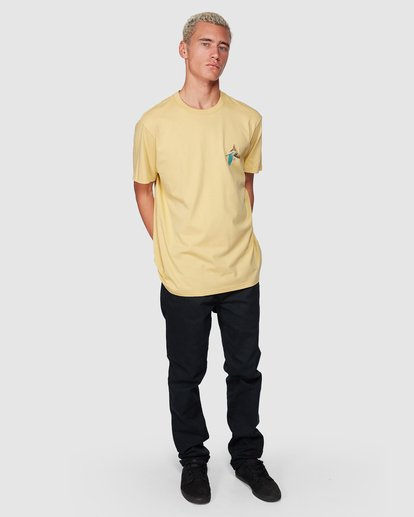 7 Parrot Bay Tee Yellow 9507027 Billabong