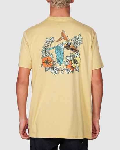 2 Parrot Bay Tee Yellow 9507027 Billabong