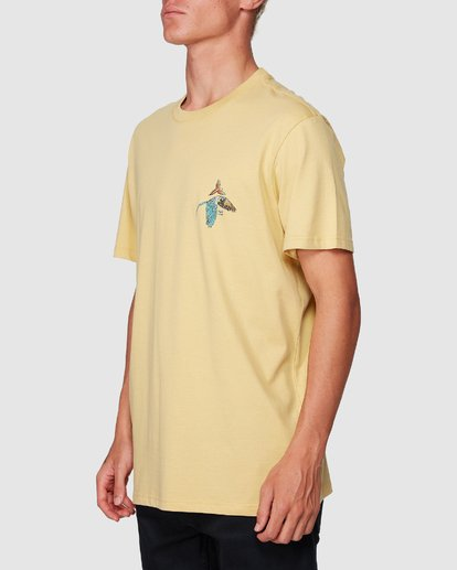 1 Parrot Bay Tee Yellow 9507027 Billabong
