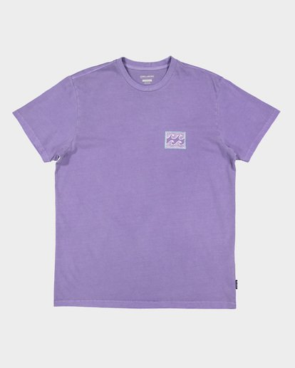 3 Full Froth Tee Purple 9507040 Billabong