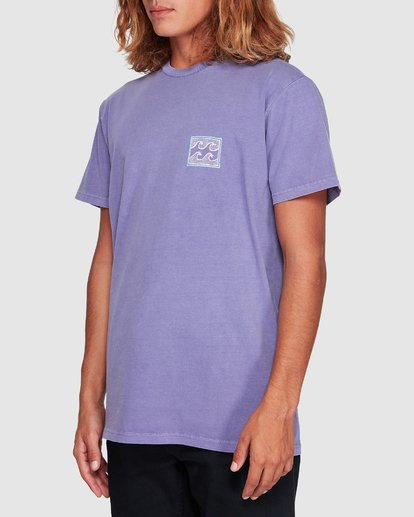 1 Full Froth Tee Purple 9507040 Billabong