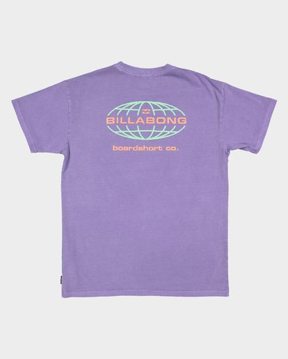 6 Latitude Tee Purple 9507043 Billabong