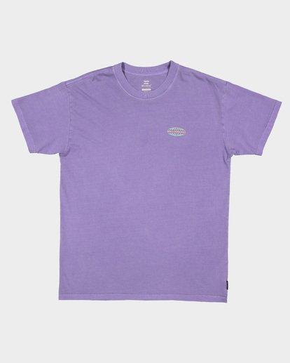 5 Latitude Tee Purple 9507043 Billabong