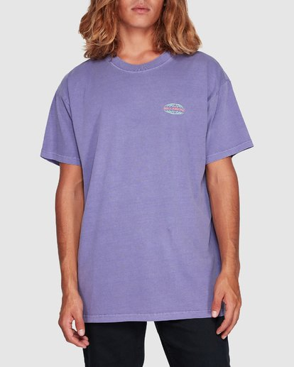 3 Latitude Tee Purple 9507043 Billabong