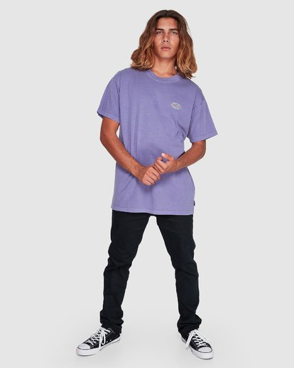 4 Latitude Tee Purple 9507043 Billabong