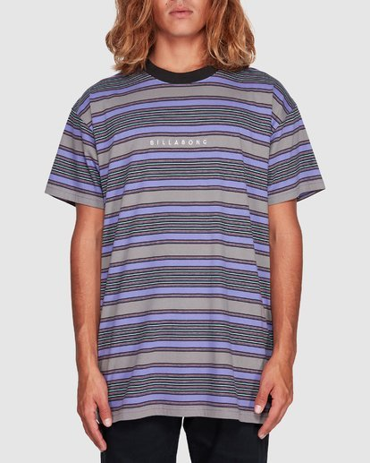 3 Mix Up Stripe Grey 9507046 Billabong