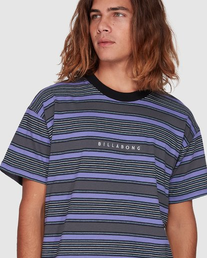 4 Mix Up Stripe Grey 9507046 Billabong