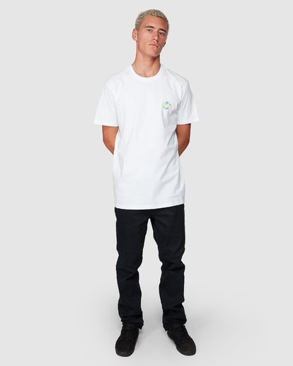 3 God Of War Tee White 9507047 Billabong