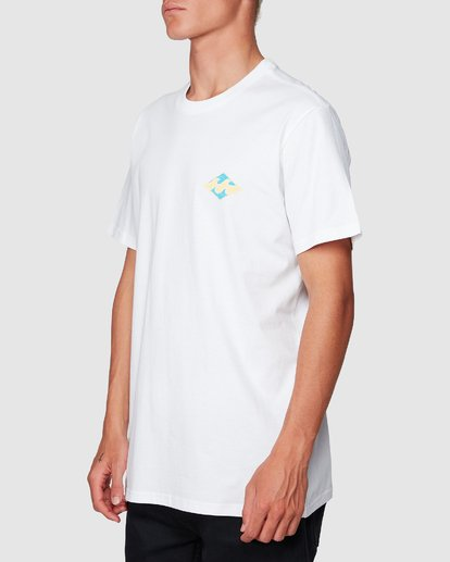 1 God Of War Tee White 9507047 Billabong