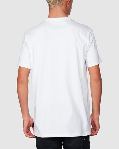 2 Inverse Tee White 9507052 Billabong