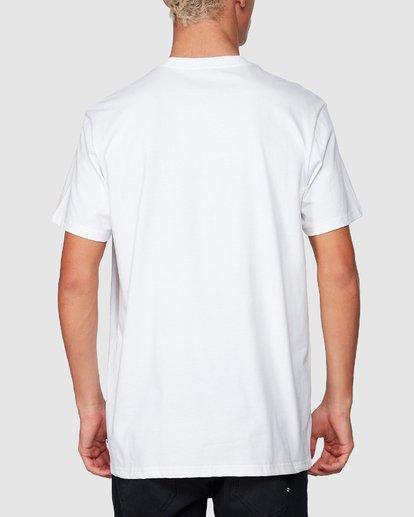 2 X-Cess Tee White 9507053 Billabong