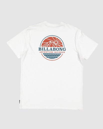 6 Adiv Breaker Tee White 9507056 Billabong