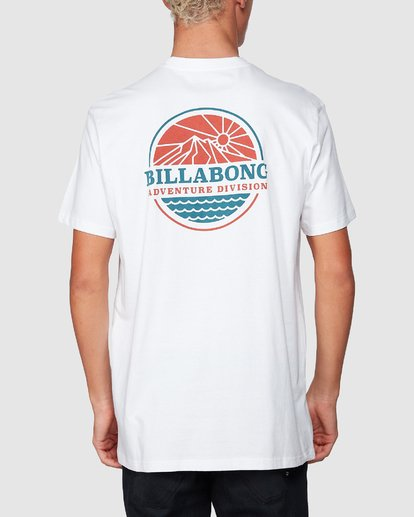 2 Adiv Breaker Tee White 9507056 Billabong