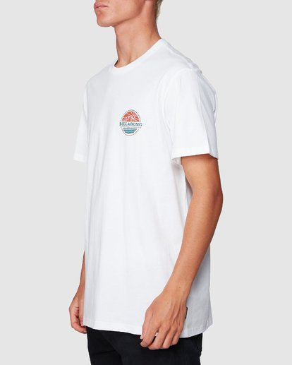 1 Adiv Breaker Tee White 9507056 Billabong