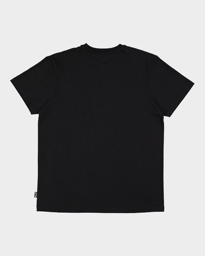 6 Banded Die Cut Tee Black 9507059 Billabong