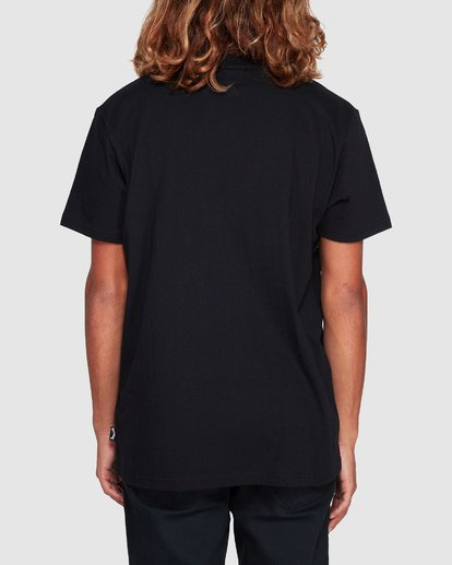 2 Banded Die Cut Tee Black 9507059 Billabong