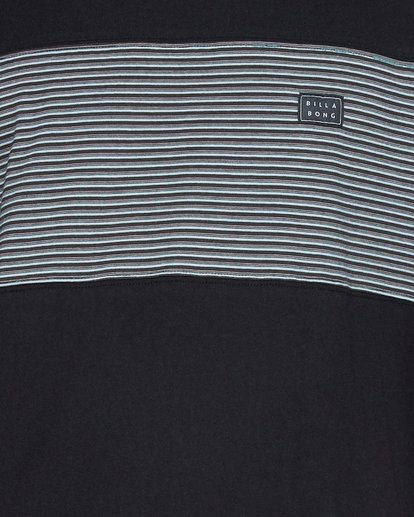 4 Banded Die Cut Tee Black 9507059 Billabong