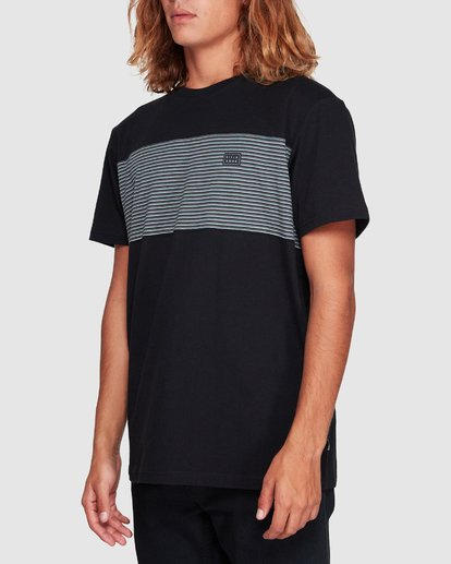 1 Banded Die Cut Tee Black 9507059 Billabong