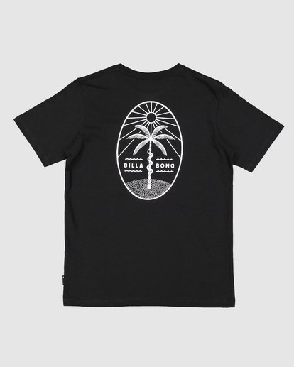 6 Treesnake Tee Black 9507060 Billabong