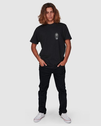 7 Treesnake Tee Black 9507060 Billabong