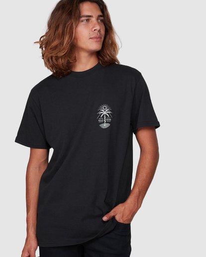 2 Treesnake Tee Black 9507060 Billabong