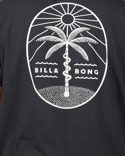 4 Treesnake Tee Black 9507060 Billabong