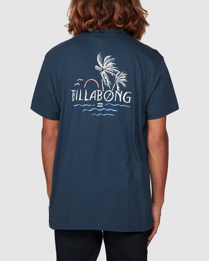 2 Social Club Tee Blue 9507061 Billabong