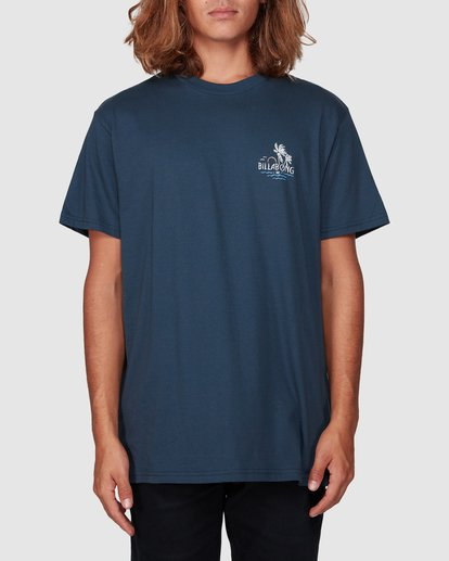 0 Social Club Tee Blue 9507061 Billabong