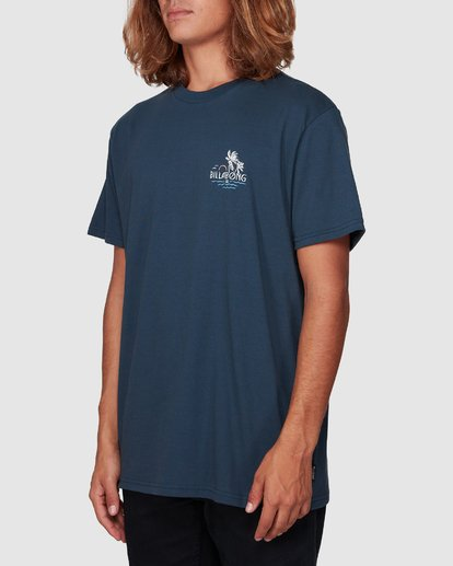 1 Social Club Tee Blue 9507061 Billabong