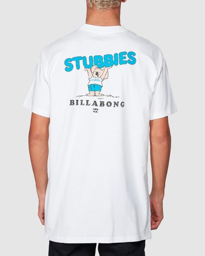 2 Stubbies Koala Tee White 9507071M Billabong