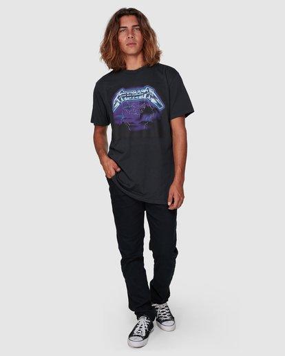6 Metallica Ride The Lightening Short Sleeve Tee Black 9507081 Billabong