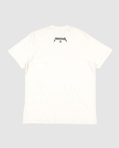 8 Metallica One Short Sleeve Tee White 9507083 Billabong