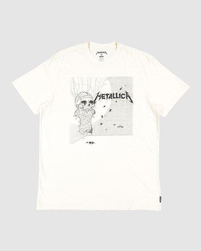 7 Metallica One Short Sleeve Tee White 9507083 Billabong