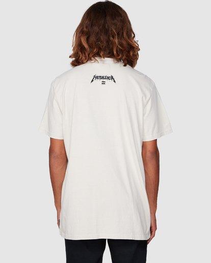 3 Metallica One Short Sleeve Tee White 9507083 Billabong