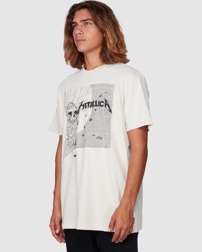 1 Metallica One Short Sleeve Tee White 9507083 Billabong