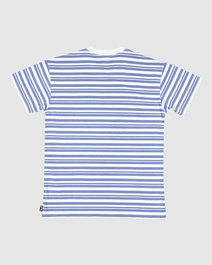 5 Simo Stripe Tee Grey 9507086M Billabong
