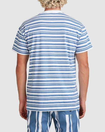 2 Simo Stripe Tee Grey 9507086M Billabong