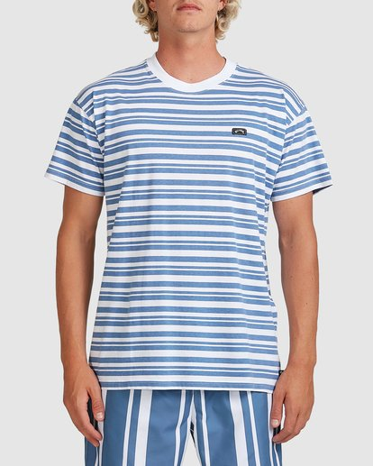 0 Simo Stripe Tee Grey 9507086M Billabong