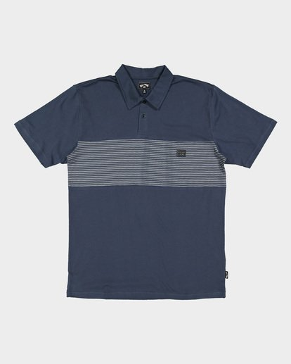 5 Banded Die Cut Polo Blue 9507140 Billabong