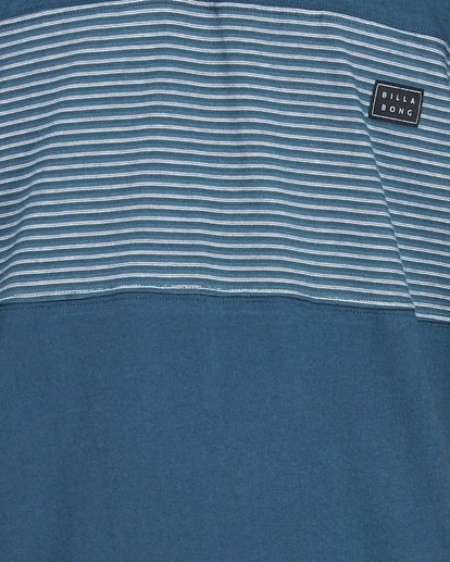 4 Banded Die Cut Polo Blue 9507140 Billabong