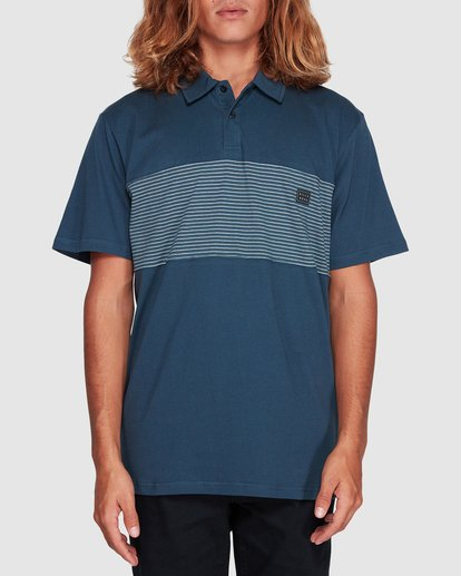 0 Banded Die Cut Polo Blue 9507140 Billabong
