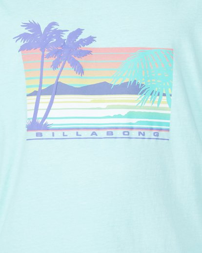 3 Coastline Long Sleeve Tee Green 9507171 Billabong