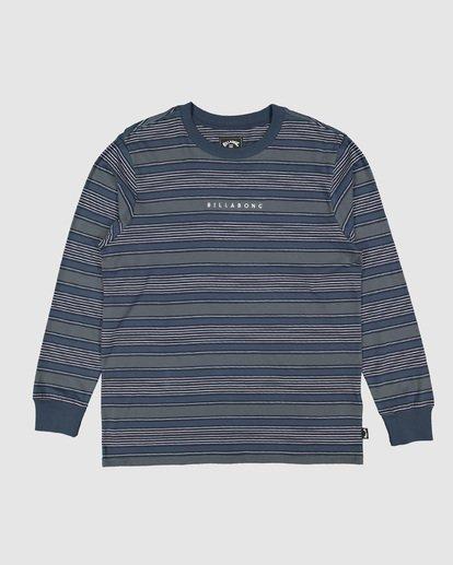 5 Mix Up Stripe Long Sleeve Tee Blue 9507175 Billabong