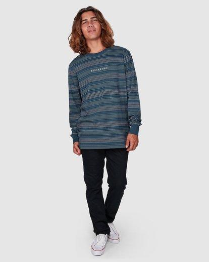 6 Mix Up Stripe Long Sleeve Tee Blue 9507175 Billabong