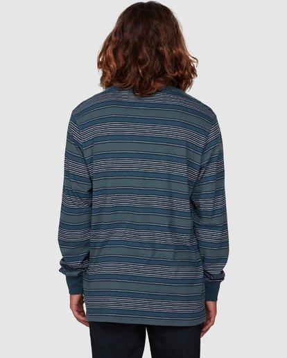 3 Mix Up Stripe Long Sleeve Tee Blue 9507175 Billabong