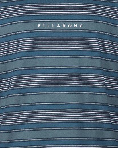 4 Mix Up Stripe Long Sleeve Tee Blue 9507175 Billabong