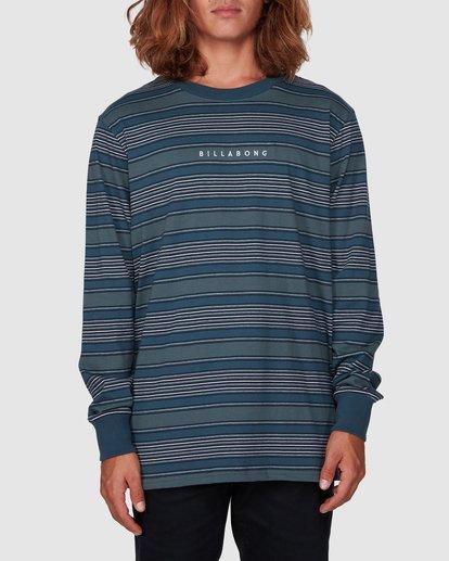 0 Mix Up Stripe Long Sleeve Tee Blue 9507175 Billabong
