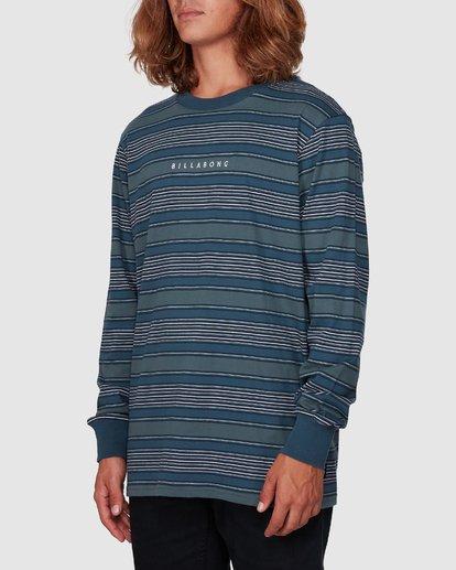1 Mix Up Stripe Long Sleeve Tee Blue 9507175 Billabong