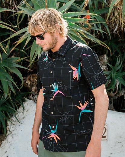 6 Sundays Floral Short Sleeve Shirt Black 9507202 Billabong